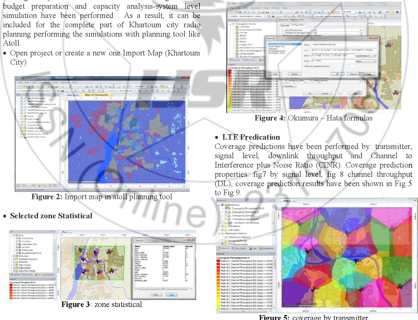 PDF] LTE Radio Planning Using Atoll Radio Planning and