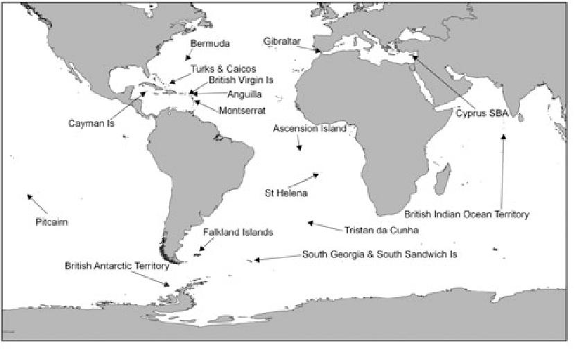 Map Of Uk Overseas Territories.Pdf The Catastrophic Impact Of Invasive Mammalian Predators On