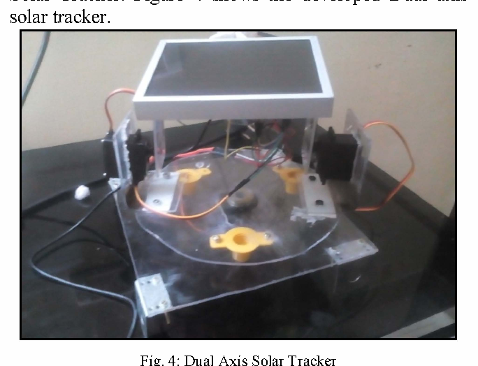 Figure 3 from Arduino based low cost active dual axis solar