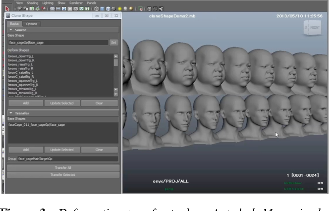 Figure 3 from Smooth contact-aware facial blendshapes