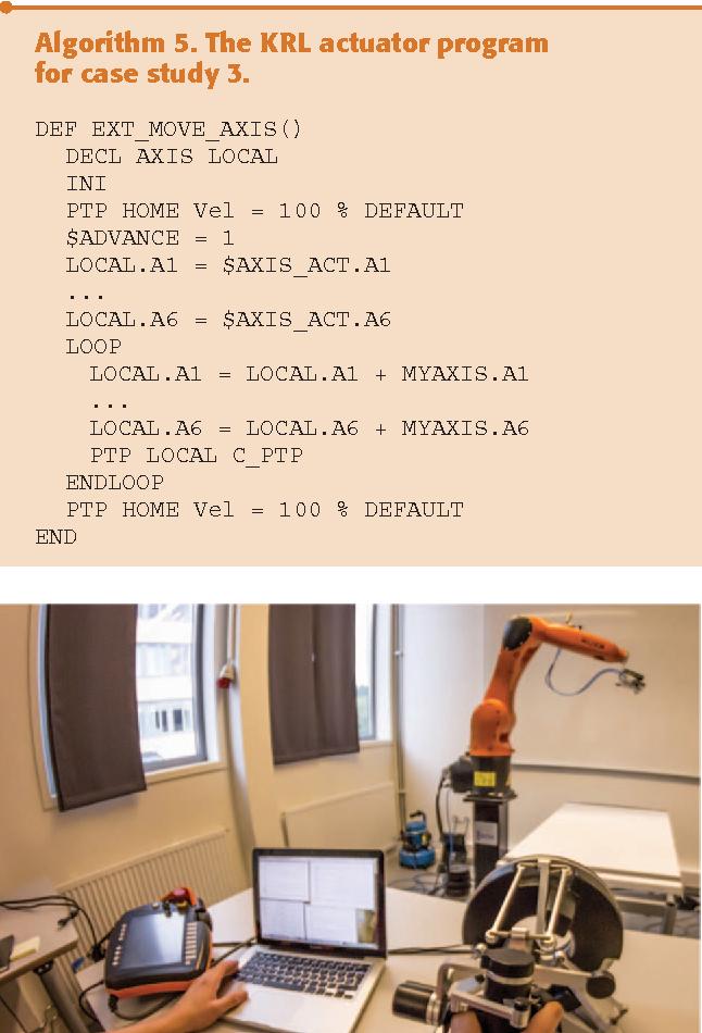 Figure 9 from Controlling Kuka Industrial Robots: Flexible