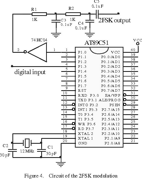 PDF] 2FSK Modem Based on the Microcontroller AT89C51
