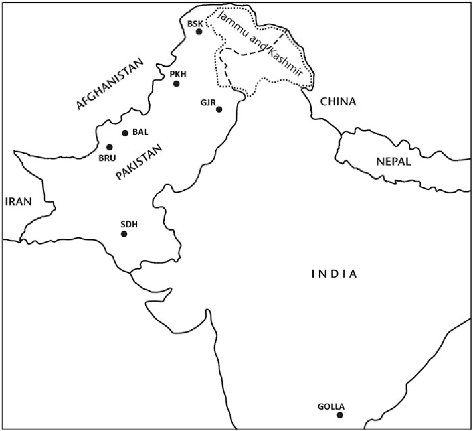 Figure 1 from HLA class I and II polymorphisms in the Gujjar