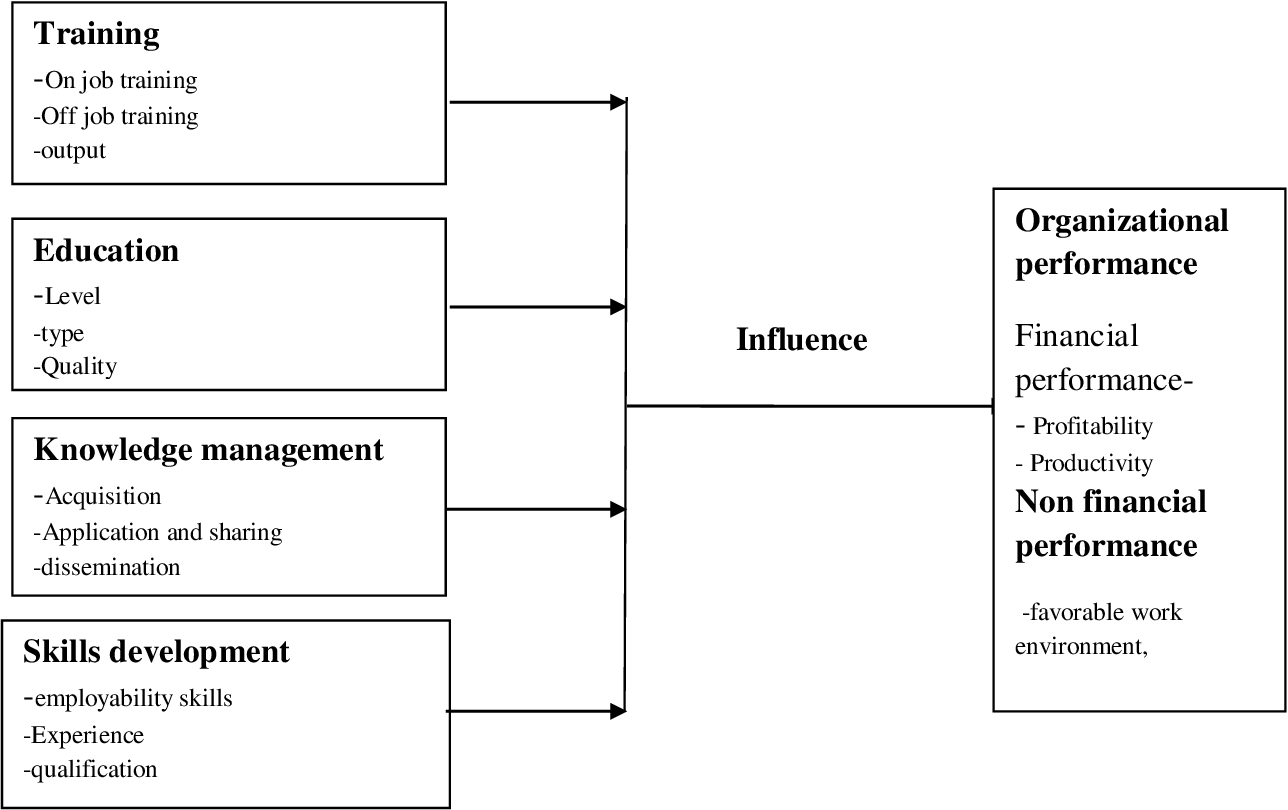 Effect of human capital investment on organizational performance chip focus 1 8 td investment