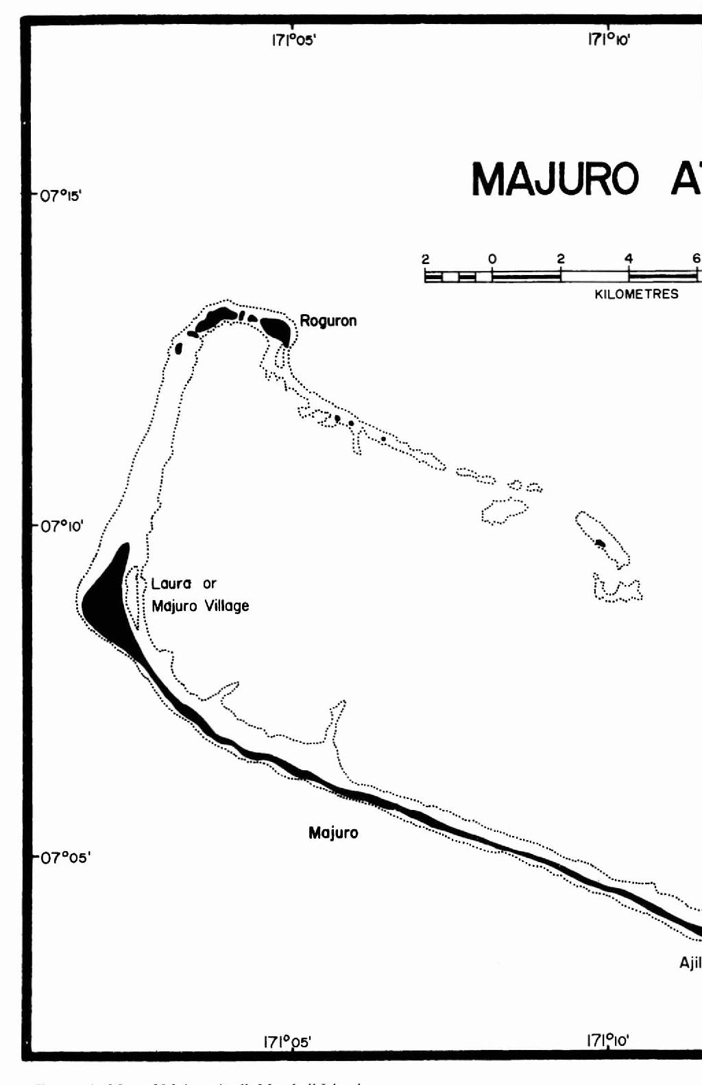 Figure I from Vegetation and Urbanization on Majuro Atoll ... on windhoek namibia map, western ghats mountains map, sofia bulgaria map, norfolk island, managua nicaragua map, wake island, nauru map, ebeye marshall islands map, marshall islands on map, kwajalein map, ebon atoll marshall islands map, vaduz liechtenstein map, samoa map, mili atoll marshall islands map, micronesia marshall islands map, south georgia and the south sandwich islands, republic of marshall islands map, majuro airport map, swiss map, pago pago, christmas island, port vila, marshall islands international airport, marshall islands pacific map, cocos islands, palau map, marshall islands world map, tarawa atoll,