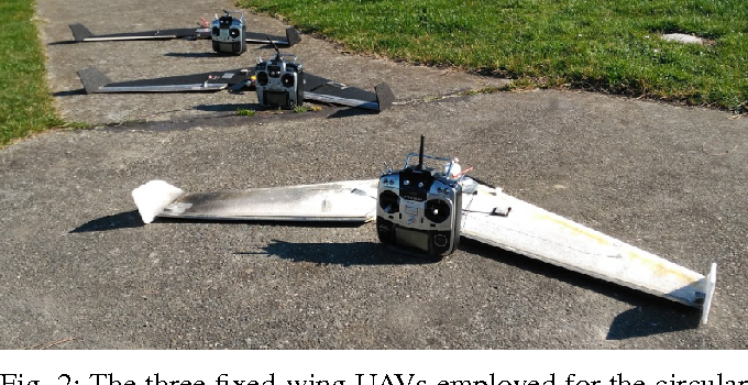 Circular formation control of fixed-wing UAVs with constant