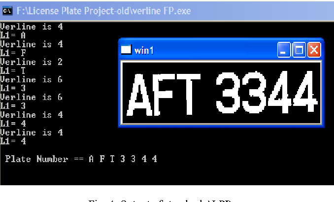 Figure 4 from An improved Malaysian Automatic License Plate