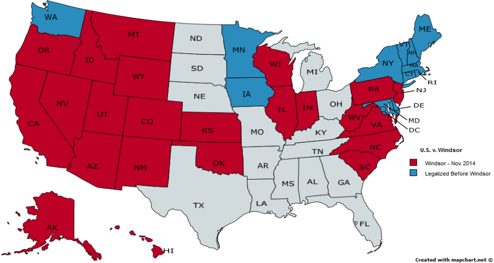 Map Of America 52 States.Figure 1 From Words Left Unsaid Justice Kennedy S Opinion In
