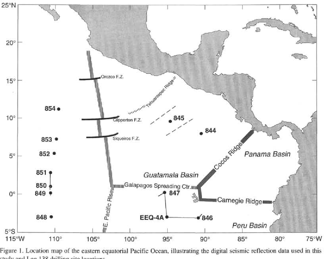 Figure 1 from Seismic Stratigraphy of the Eastern Equatorial ...