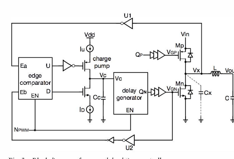 figure 8 from a high efficiency synchronous buck converter