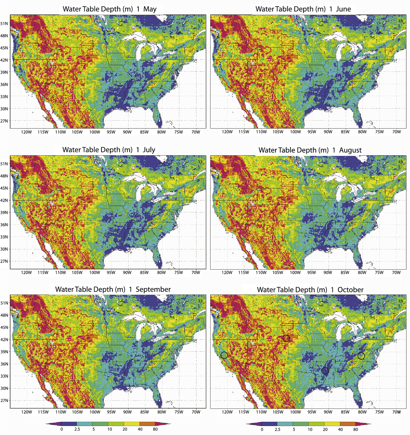 Figure 9 From Incorporating Water Table Dynamics In Climate