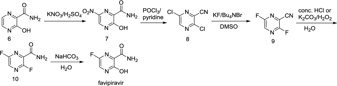 Image result for FAVIPIRAVIR SYNTHESIS