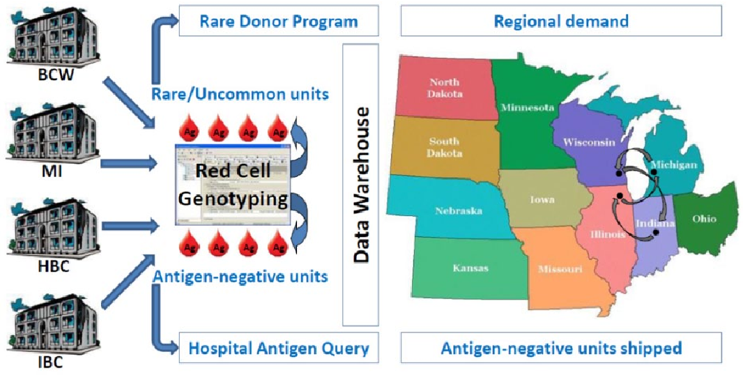 Figure 2 from Red cell genotyping precision medicine: a