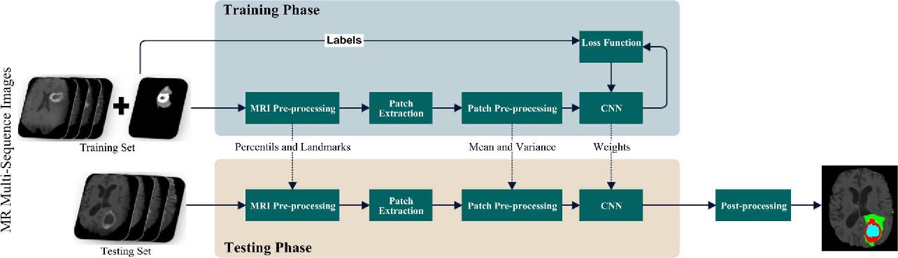 Brain Tumor Segmentation Using Convolutional Neural Networks