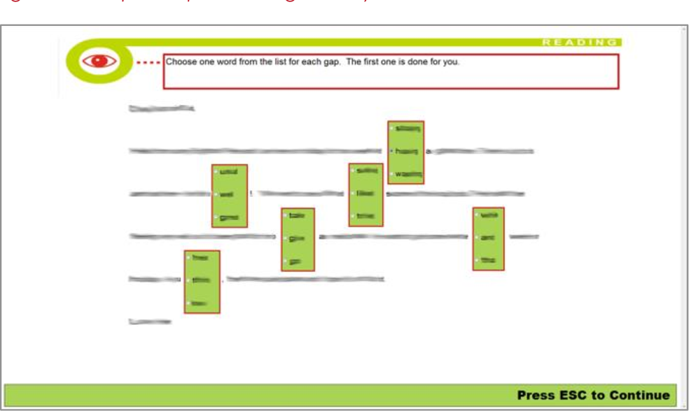 Figure 3 from Looking into test-takers' cognitive processes