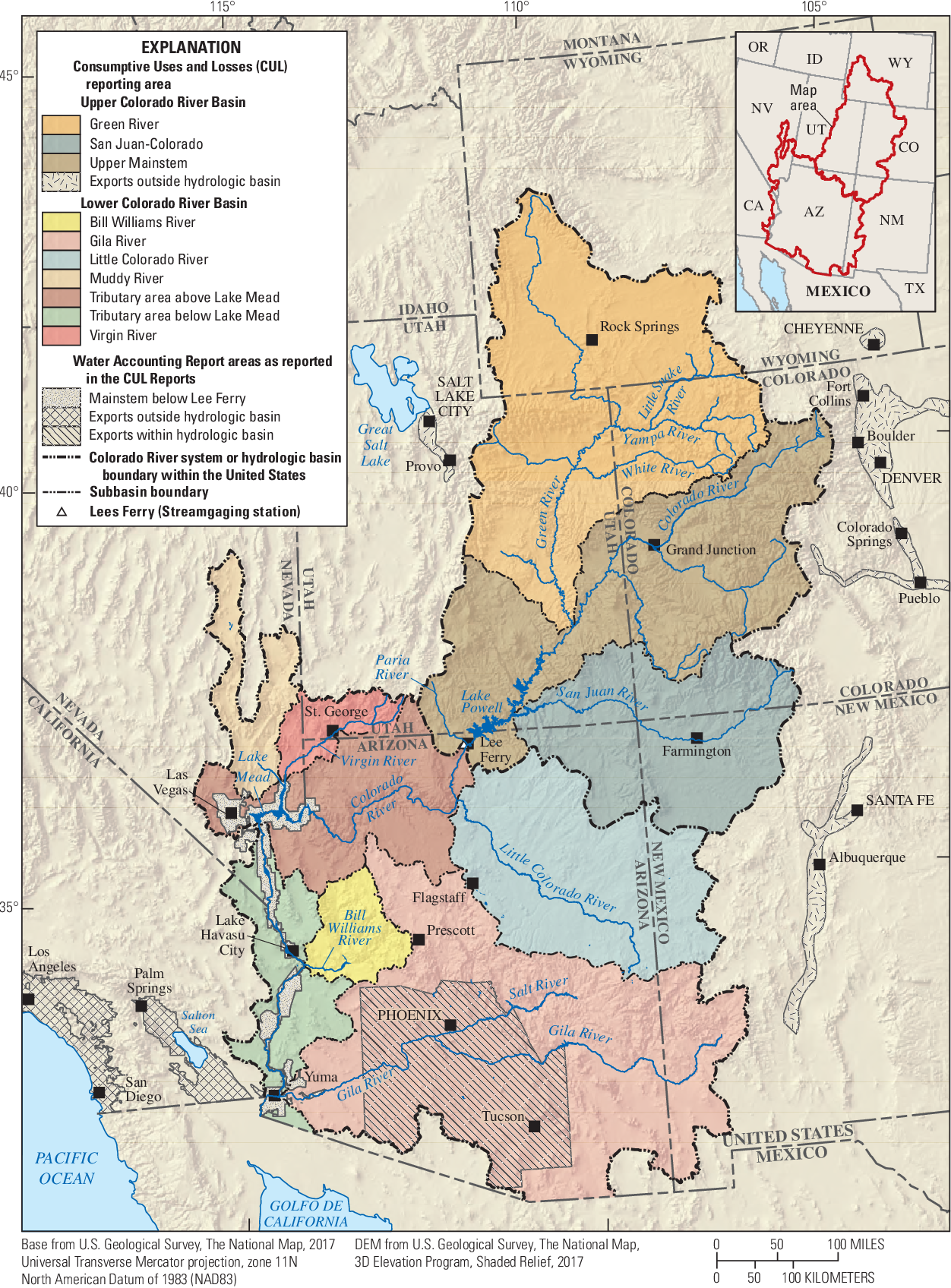 Figure 1 from Comparison of U.S. Geological Survey and ...