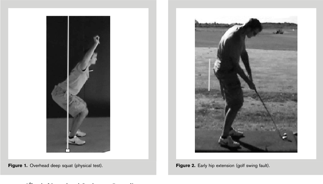 Figure 1 from Correlation of Titleist Performance Institute
