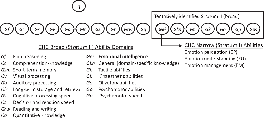 Figure 1 from Emotional intelligence is a second-stratum