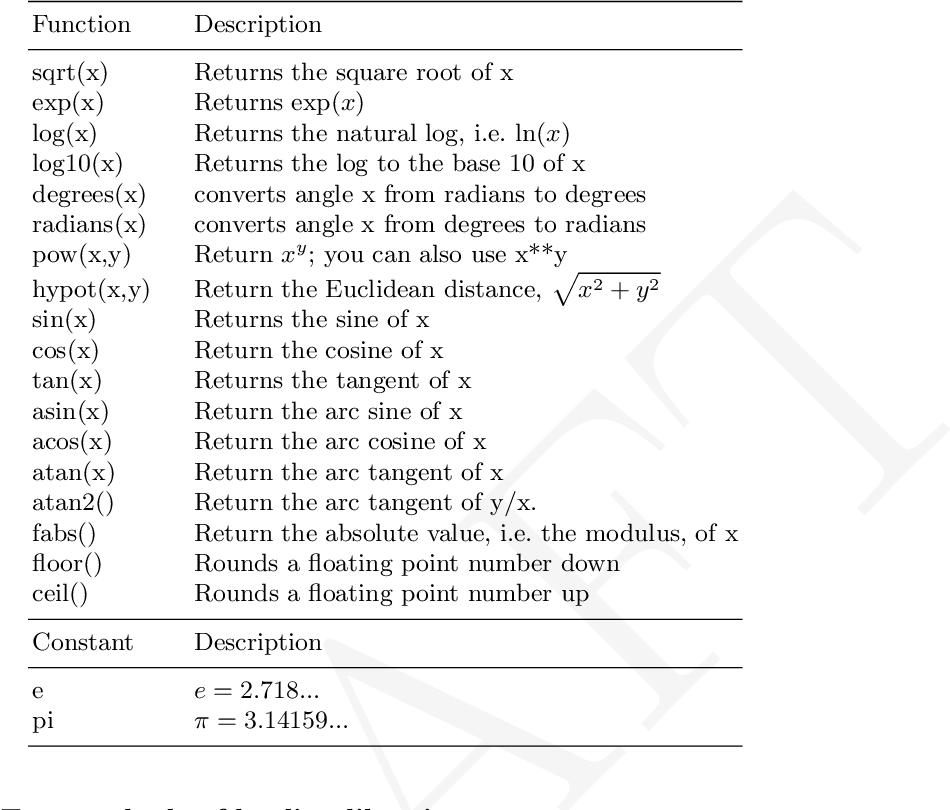 Table 4 1 from Computational Physics Physics 261 - Semantic