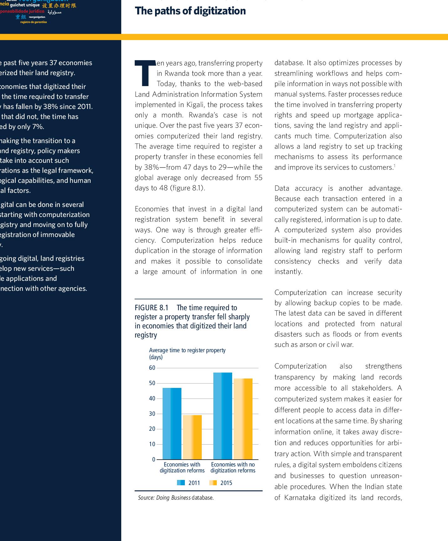 PDF] Doing Business 2016 Measuring Regulatory Quality and ...