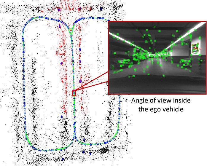 Figure 1 from Vehicle model based visual-tag monocular ORB
