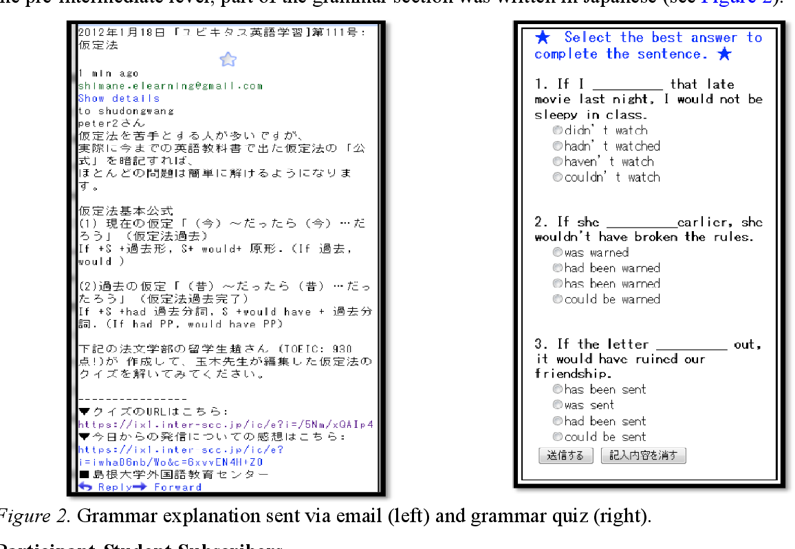 Figure 1 from Reading and Grammar Learning through Mobile