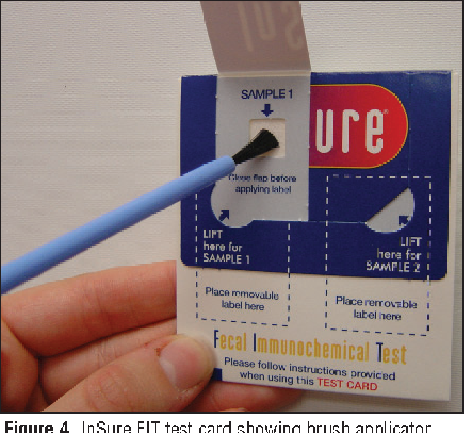 Figure 4 From The Role Of Fecal Occult Blood Testing In Screening For Colorectal Cancer Colorectal Cancer An Update For Diagnosis And Prevention Series 3 Semantic Scholar