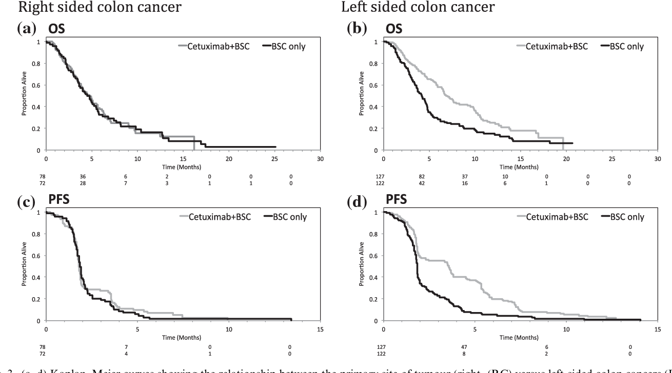 Figure 3 From Location Of Colon Cancer Right Sided Versus Left Sided As A Prognostic Factor And A Predictor Of Benefit From Cetuximab In Ncic Co 17 Semantic Scholar