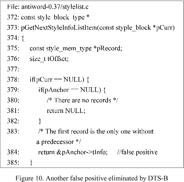 PDF] Detecting Null-dereference Bugs via a Backward Analysis