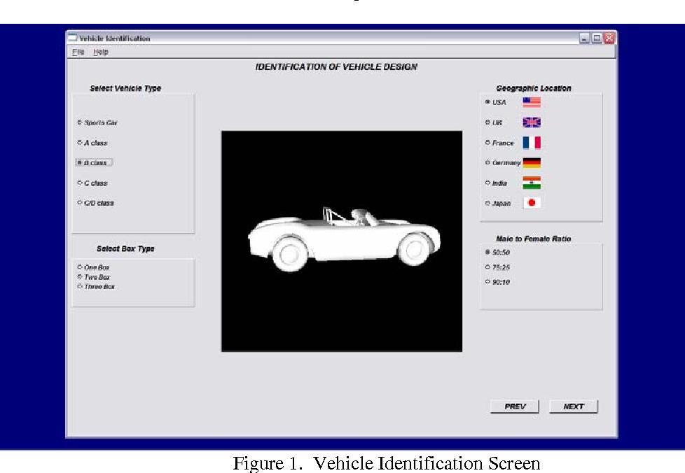 Pdf A Parametric Model For Automotive Packaging And Ergonomics Design Semantic Scholar