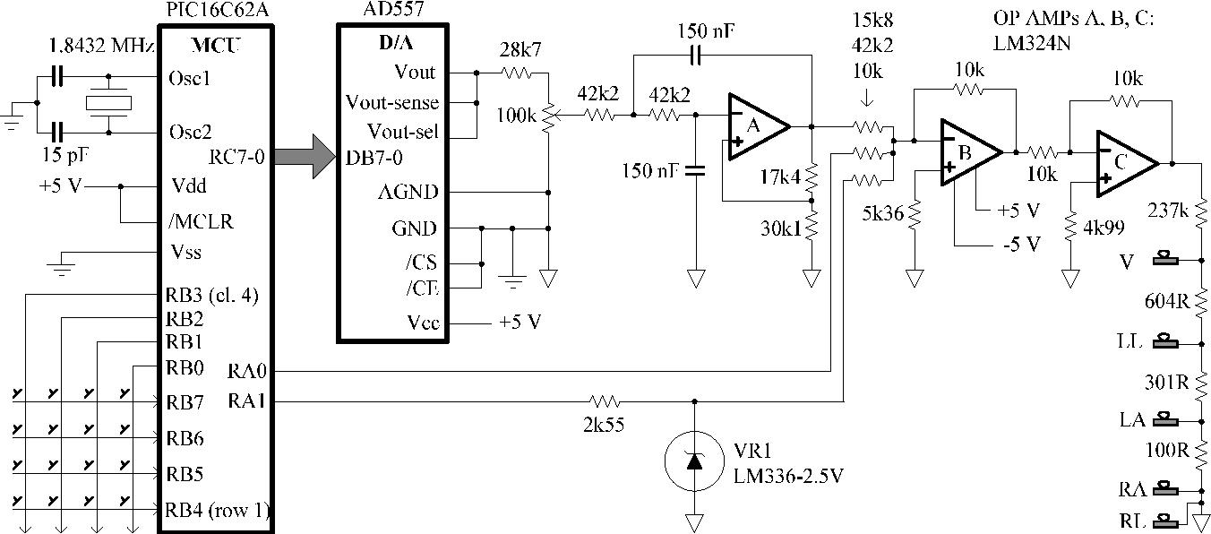 Ecg Simulator Ecg Simulator Schematic - Board Wiring Diagrams