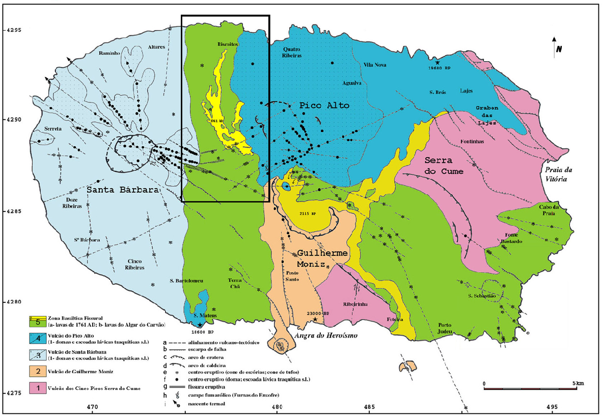 Pdf Geological Mapping Of The Central Area Of Terceira Island Azores Portugal Associated Volcanostratigraphy Ages And Genetic Implications On The Malha Balcoes Chamusca Lava Caves System Semantic Scholar