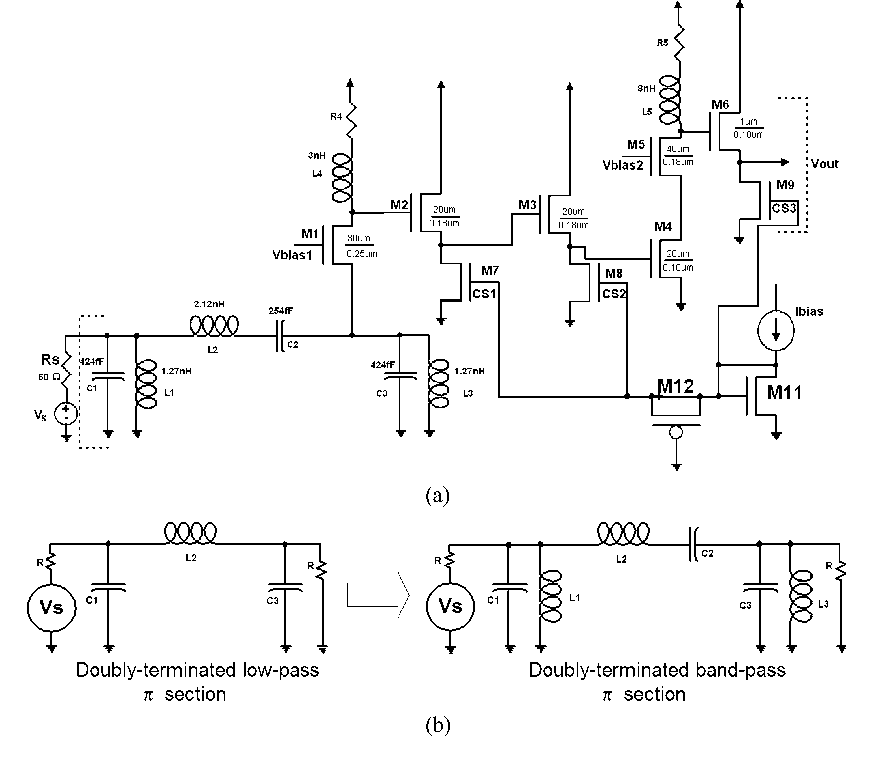 Figure 1 from Analysis and Design of a Multistage CMOS Band
