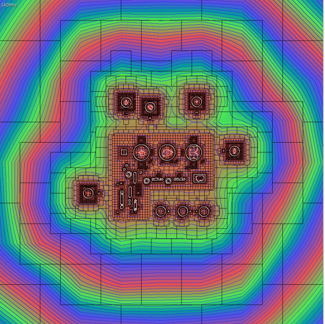 Figure 2 from CUDA-based Signed Distance Field Calculation