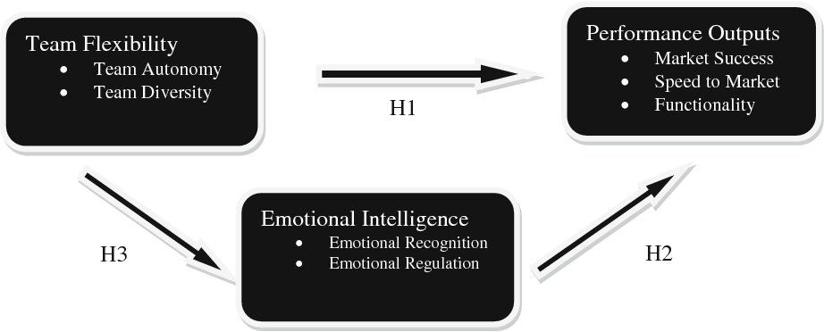 Figure 1 from The Effects of Team Flexibility and Emotional Intelligence on Software Development Performance | Semantic Scholar
