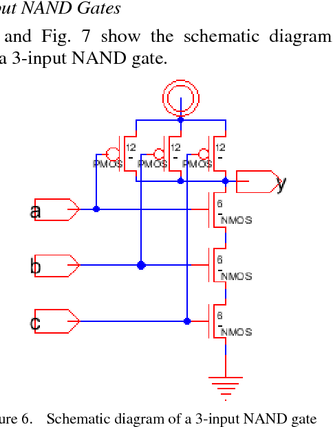 Figure 6 from IC Layout Design of Decoder Using Electric VLSI Design on