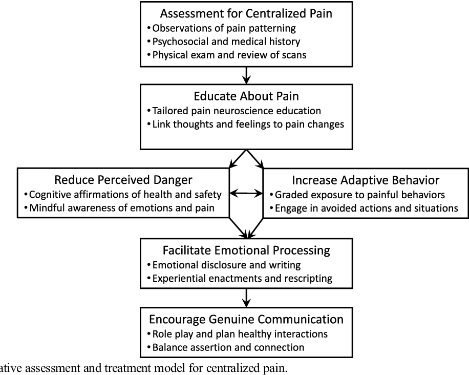Psychological Therapy for Centralized Pain: An Integrative