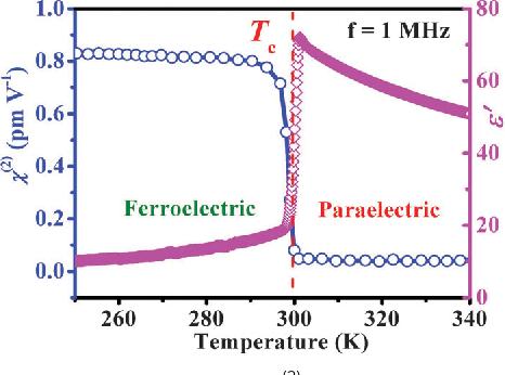 Symmetry breaking in molecular ferroelectrics