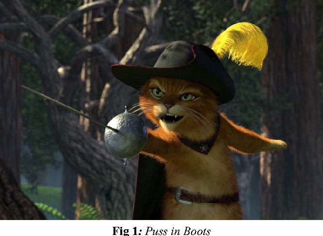 Figure 1 From Animating Puss In Boots Feather In Shrek 2 Semantic Scholar