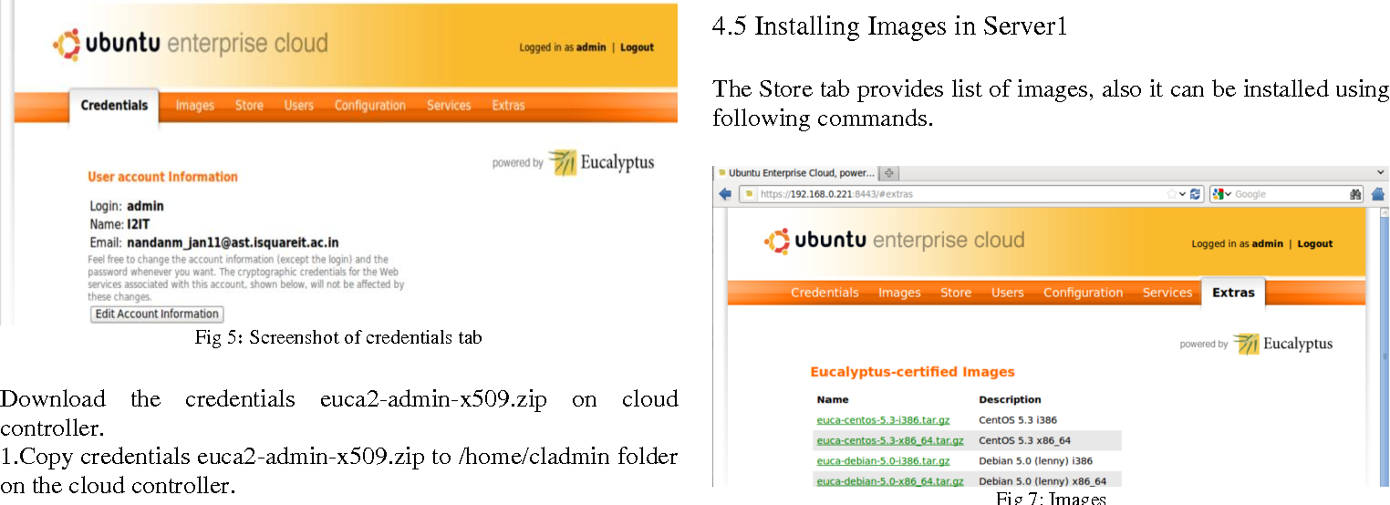 Figure 5 from Implementation of Private Cloud using