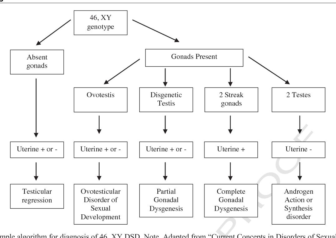 types of disorders of sex development in Waterbury