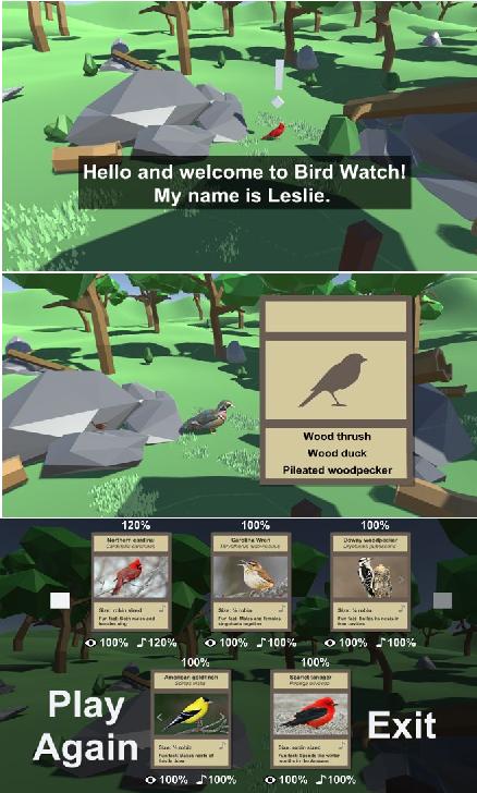 Bird Watch: A Fully Immersive VR Birdwatching Simulator | Semantic Scholar