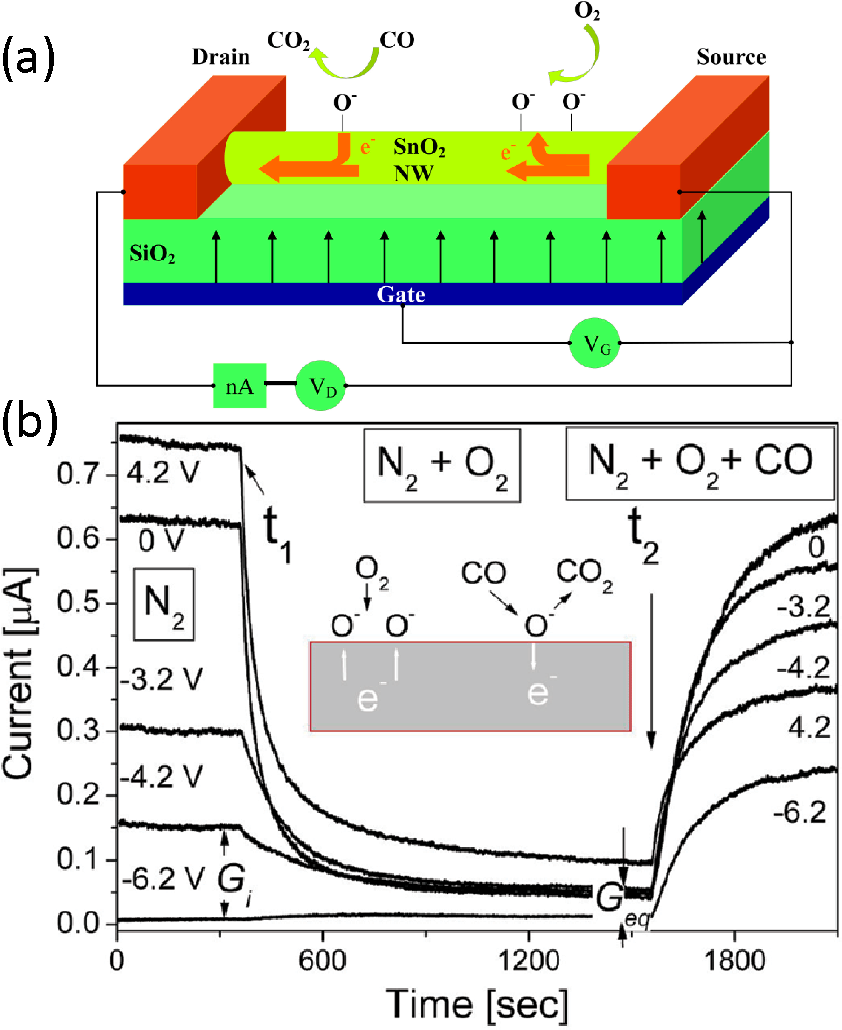 Figure 3 from Gas Sensors Based on Semiconducting Nanowire