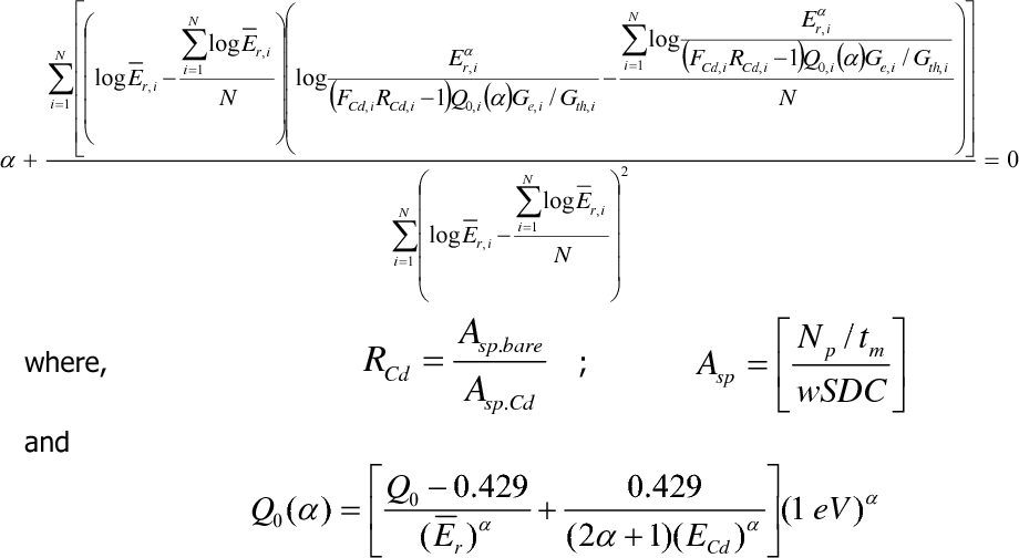 Table 1 from Neutron spectrum parameters in two irradiation