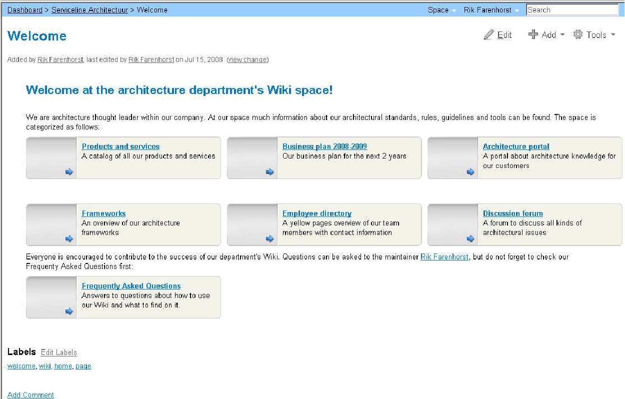PDF] Experiences with a Wiki to Support Architectural Knowledge ...