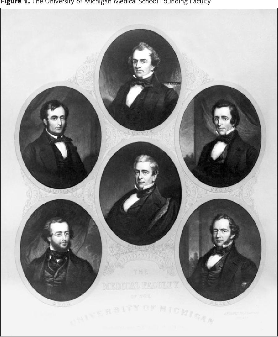 The University of Michigan Medical School, 1850-2000: