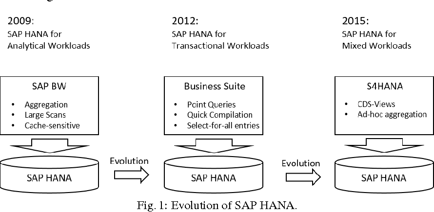 PDF] SAP HANA - The Evolution of an In-Memory DBMS from Pure