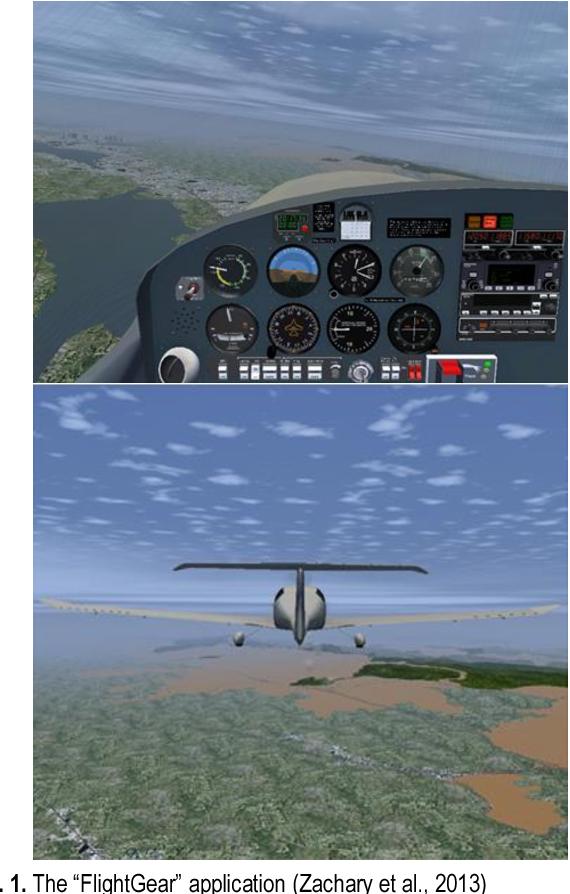 A Ground Control Station for the UAV Flight Simulator