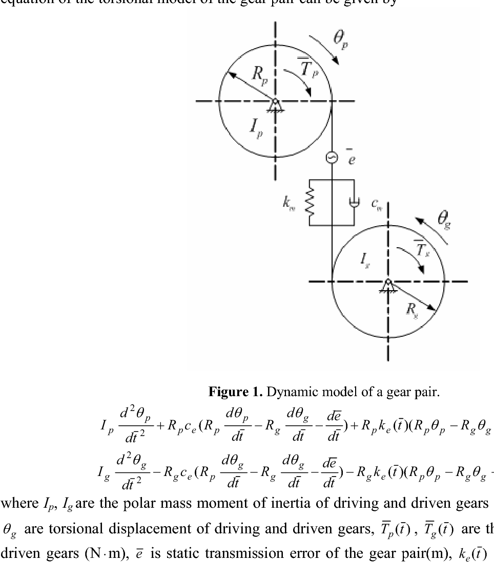PDF] Gear Method for Solving Differential Equations of Gear