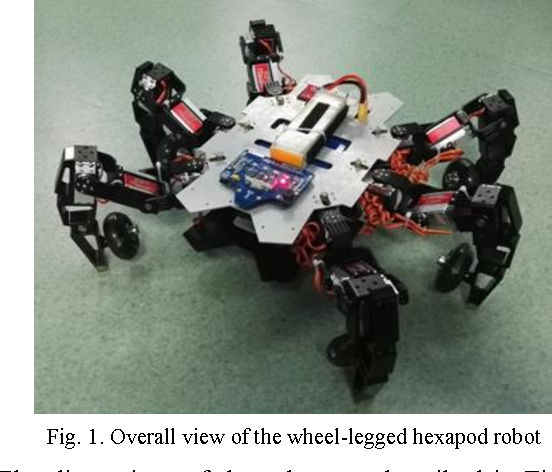 Gait planning for a multi-motion mode wheel-legged hexapod